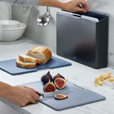 Joseph Joseph Folio 4 Piece Large Chopping Board Set - Graphite
