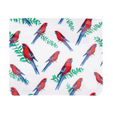 Reusable Zip Bags Set of 8 - Native Birds