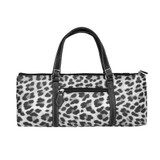 Sachi Insulated Wine Purse - Grey Leopard