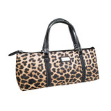 Sachi Insulated Wine Purse - Leopard