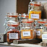 Kilner Square Clip Top Herb & Spice Glass Jar - 70ml