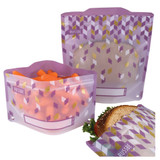 Russbe Reusable Snack & Sandwich Bags Set of 4 - Metallic Confetti