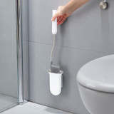 Joseph Joseph Flex Wall Mount Toilet Brush - White