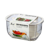 Felli Duo Fresh Keeper 4.4L Fridge Storage Container