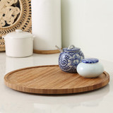 Bamboo Lazy Susan Turntable