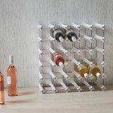 NOOK 25 Pocket Wine Rack Medium - White