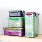 Lock & Lock Eco Rectangular Food Container 3 Piece Set