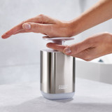 Joseph Joseph Stainless Steel Presto Soap Dispenser - Silver