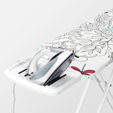 brabantia Size B Ironing Board with Solid Steam Iron Rest - Dragonfly