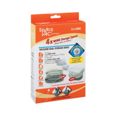 Space Vac Cube Large & Extra Large Vacuum Storage Bags - 2 Pack