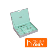 Stackers Classic Jewellery Box with Lid - Grey