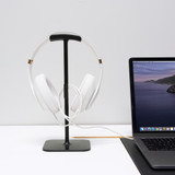 Bluelounge Posto 2.0 Headphone Stand - Black
