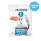brabantia Perfect Fit Bin Liner Bags 5L Size W - 60 Pack