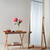 Freestanding Full Length Bamboo Mirror