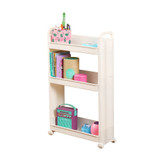Narrow 3 Tier Storage Trolley