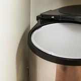 Howards 14L In Cupboard Swing Out Bin - Stainless Steel