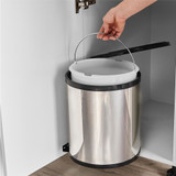 Howards 14L In Cupboard Swing Out Bin - Stainless Steel