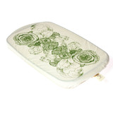 halo Rectangular Dish Cover - Edible Flowers
