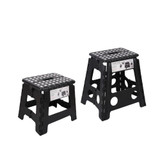Urburn Folding Black Step Stools