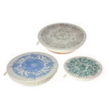 halo Dish Covers Large Set of 3