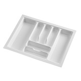 Howards 7 Compartment Cutlery Tray 63cm - White