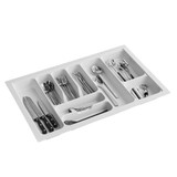 Howards 9 Compartment Cutlery Tray 73cm - White