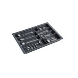 Howards 4 Compartment Cutlery Tray 65cm - Grey