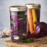 Kilner Wide Mouth Preserve Glass Jar - 500ml