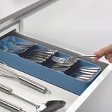 Joseph Joseph DrawerStore Compact Cutlery Drawer Organiser - Sky Blue