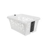 White Magic Laundry Basket with Legs