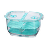 Felli Duo Fresh Keeper 1.8L Fridge Storage Container - Blue