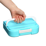 Felli Foody 4 Compartment Bento Box - Blue