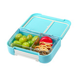 Felli Foody 2 Compartment Bento Snack Box - Blue