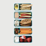 Fuel Snack & Dip Container - Blue