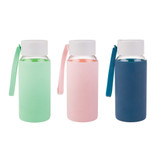 Oasis Borosilicate Glass Water Bottle 500ml