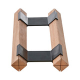 Howards Rustic Mahogany Timber Wine Rack Connector Clip
