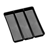 madesmart 3 Compartment Utensil Tray - Carbon
