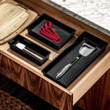 madesmart Drawer Organiser Small - Carbon