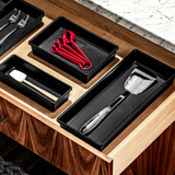 madesmart Drawer Organiser Large - Carbon