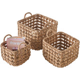 Howards Square Woven Storage Baskets