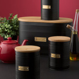 Typhoon Otto Coffee Canister 1.4L - Black