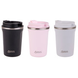 Oasis Stainless Steel Insulated Travel Mug 380ml