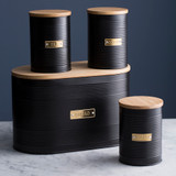 Typhoon Otto Bread Bin - Black