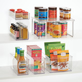 iDesign Linus Stackable Pantry Cabinet Shelf