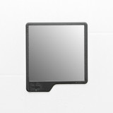 Tooletries The Oliver Shower Mirror - Charcoal