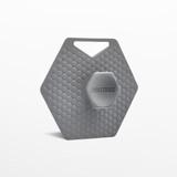 Tooletries Silicone Body Scrubber - Grey