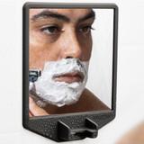 Tooletries The Joseph Shower Mirror & Razor Holder - Charcoal