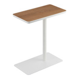 Tower Side Table - White