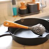 Full Circle Tenacious C Cast Iron Dish Brush