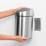 brabantia 3L Finger Print Proof Stainless Steel Touch Bin